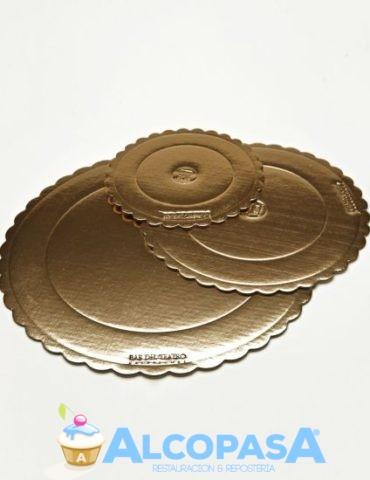 disco-de-carton-oro-extra-rigido-ud