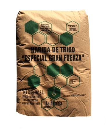 HARINA ESPECIAL FUERZA SAN LORENZO 25KG (UND)