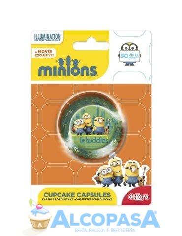 capsulas-cupcake-minions-50uds