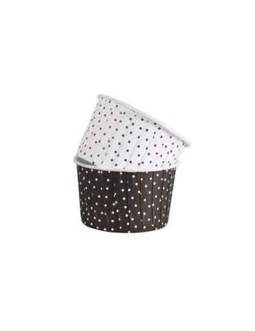 capsulas-cupcake-negro-lunares-culpit-24uds