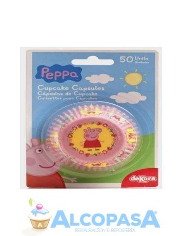 capsulas-cupcake-pepa-pig-50uds