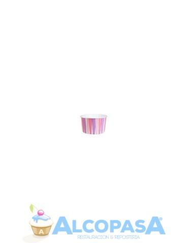 capsulas-cupcake-rosa-rayas-culpit-24uds