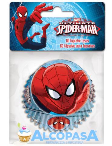 capsulas-cupcake-spiderman-60uds