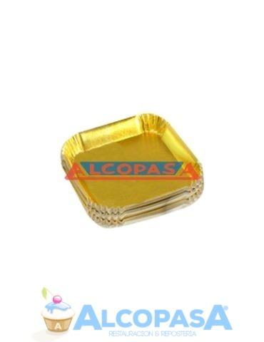 platillo-cuadrado-oro-100uds