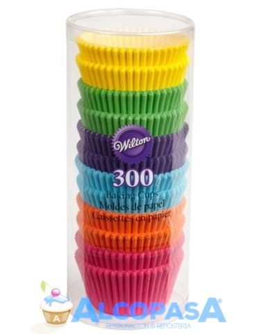 capsulas-arcoiris-surtido-wilton-300-uds
