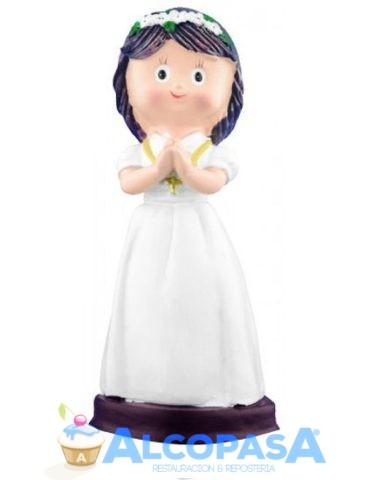 nina-comunion-rezando-con-collar-13-5cm-co0076ud