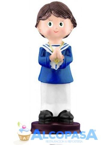 nino-comunion-rezando-con-collar-13-5cm-co0075ud