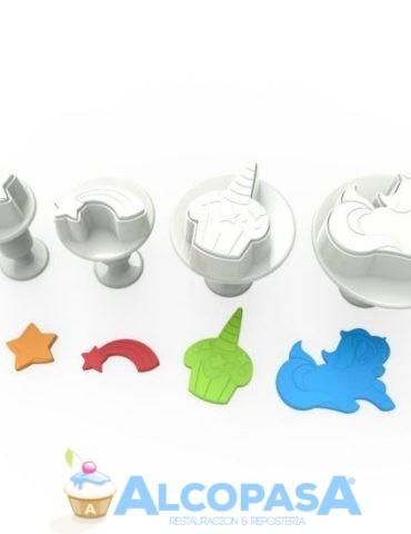 cortadores-con-expulsor-unicornio-set-4uds