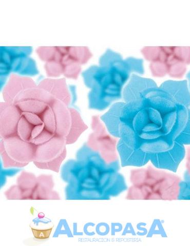 flor-oblea-rosa-cbase-50mm-caja-100uds