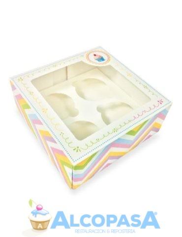 caja-para-4-cupcakes-arcoiris-ud