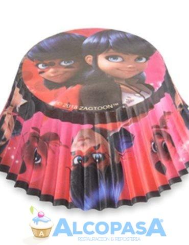 capsulas-cupcake-ladybug-o7cm-blister-50uds
