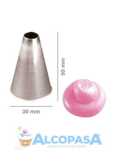boquilla-inox-lisa-no5-30x50mm-ud