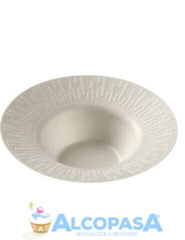 plato-accueil-blanco-pulpa-o23x3-8cmcaja-50uds