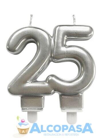 vela-aniversario-plata-25-anos-ud